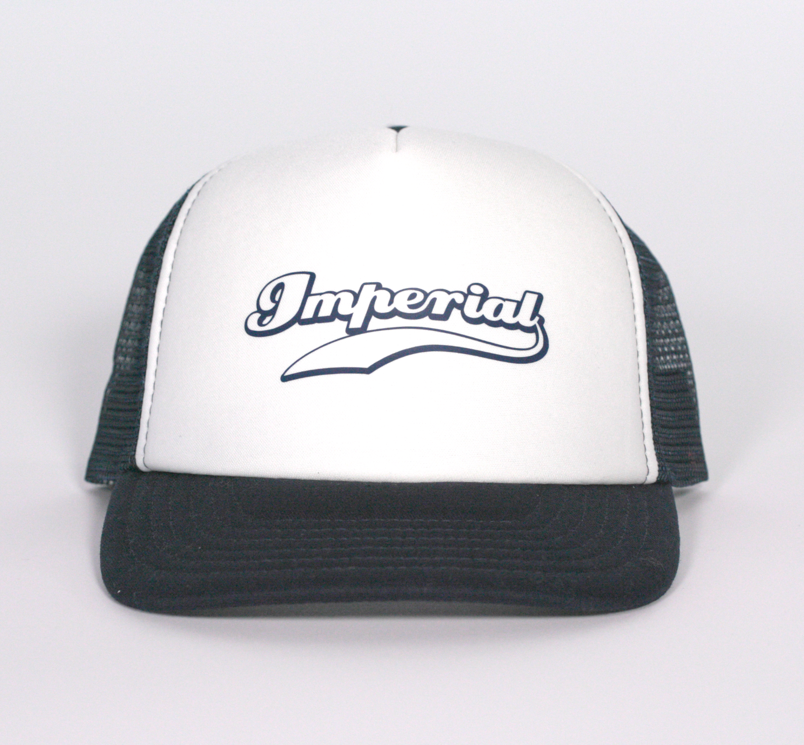 Imperial Kids Trucker Cap in Navy