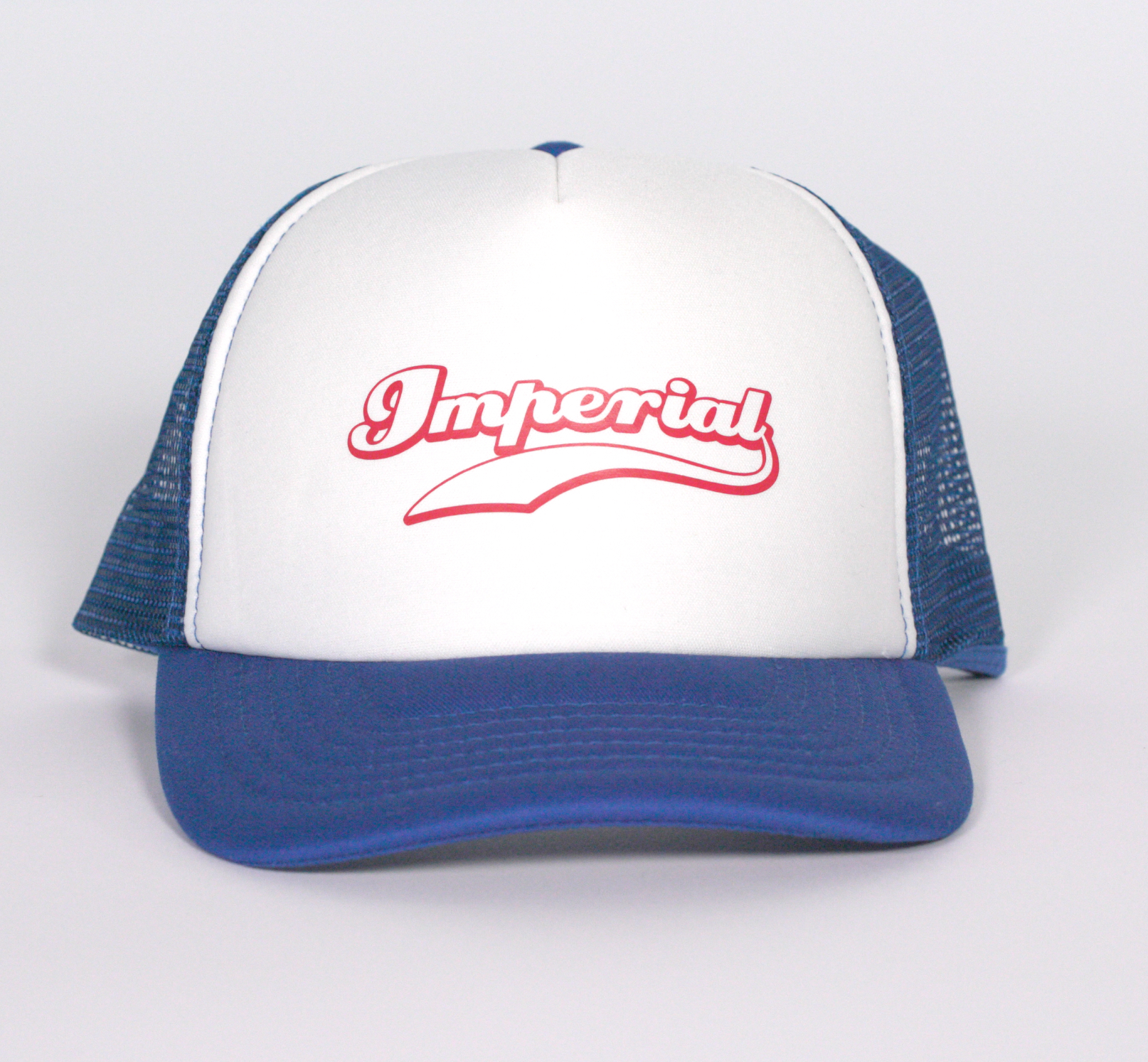 Imperial Kids Trucker Cap in Blue