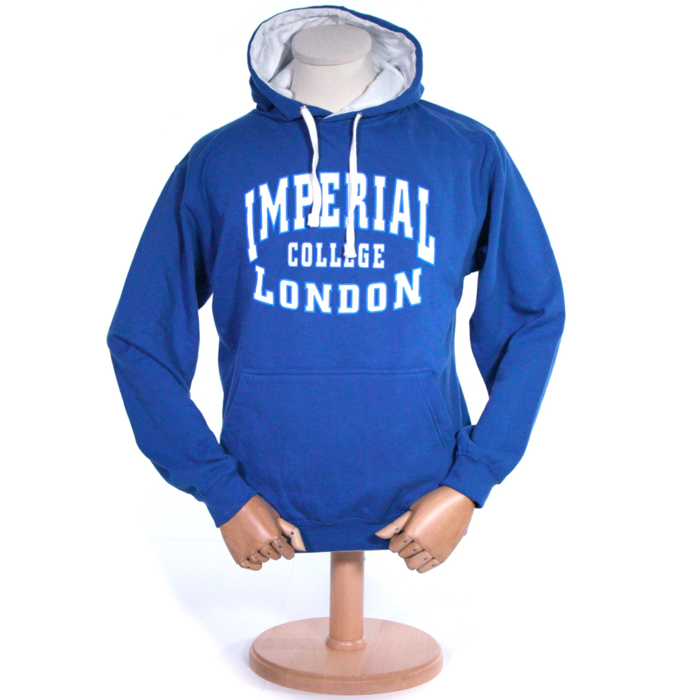 American Letter Hoodie in Royal Blue