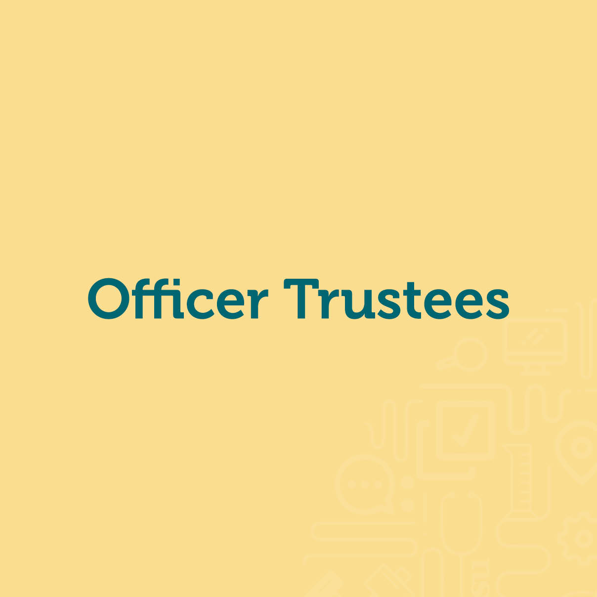 Officer Trustees