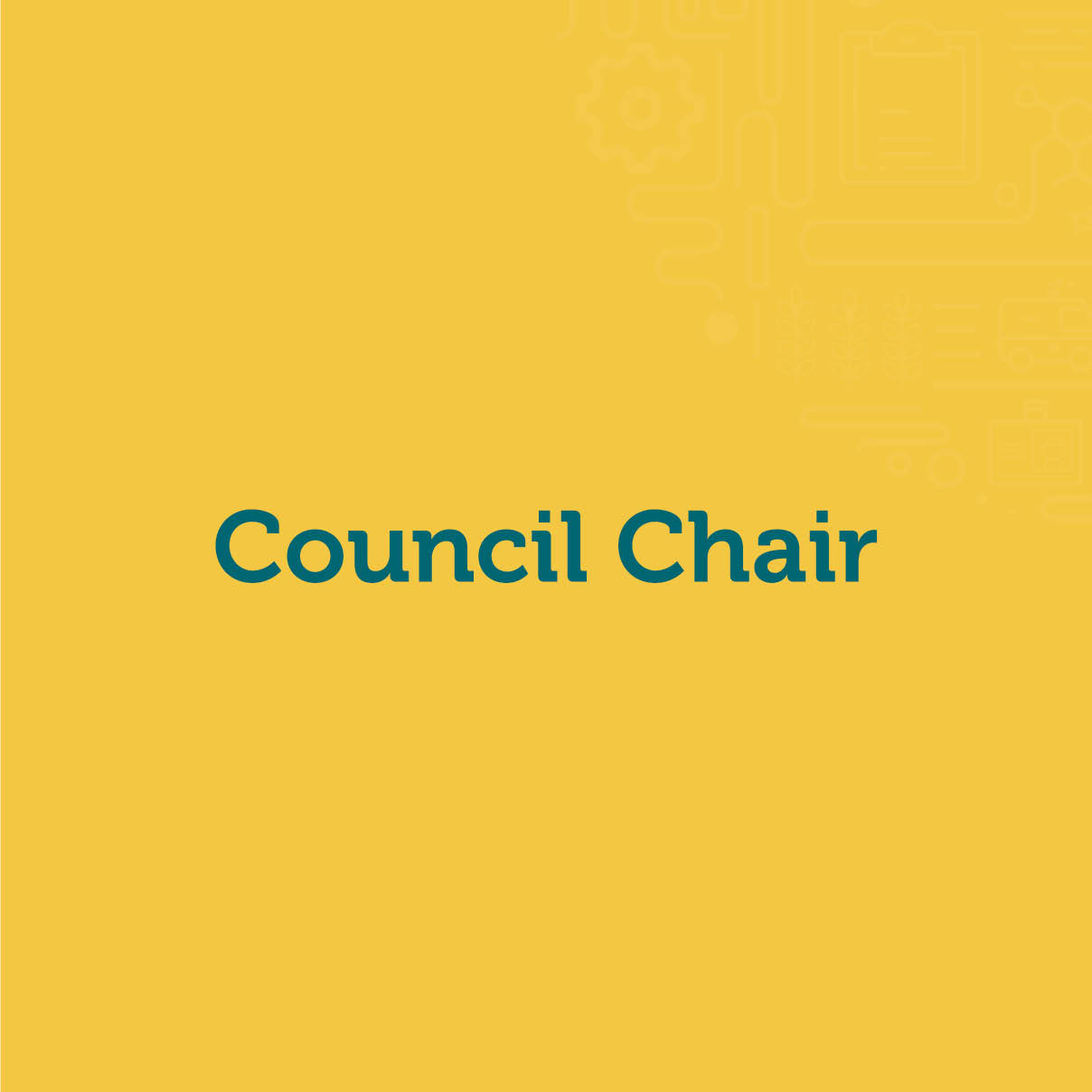 Council Chair