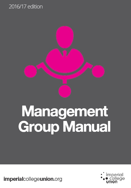 Management group manual front cover