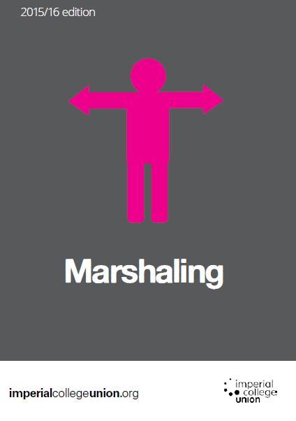 Marshaling Handbook front cover