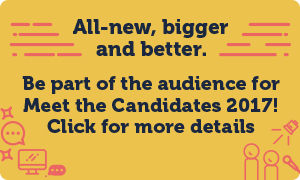 You can Meet the Candidates on Wednesday 1 March - find out more!
