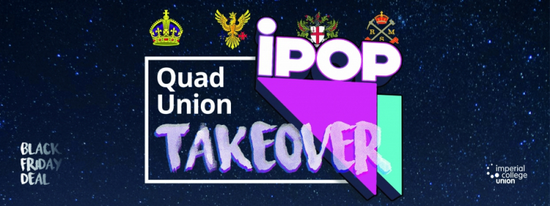 Quad Union iPop Takeover Image