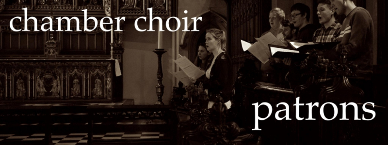 Chamber Choir Patrons Image