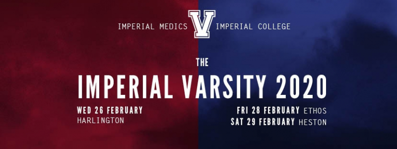 The Imperial Varsity 2020 (Friday Only) Image