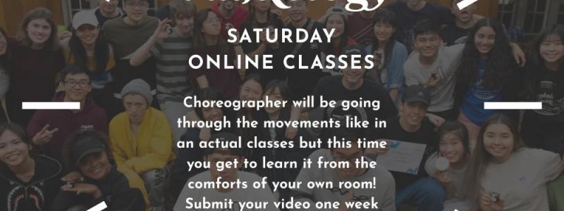 Online choreo class Image