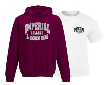 Twin Pack in Burgundy - Hoodie and T-Shirt