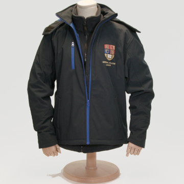 Crest Regatta Soft Shell Jacket in Navy