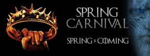 Spring Carnival 2017 - £2.50 Early Dragon Ticket Image