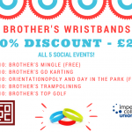Brothers' Wristbands Image