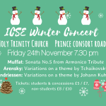 ICSE Winter Concert Image