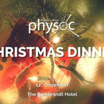 PhySoc Christmas Dinner - Main Release Image