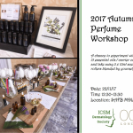 2017 AUTUMN PERFUME WORKSHOP Image