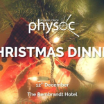 PhySoc Christmas Dinner - Final Release Image