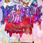 Non-Student Ticket - Maskerade by Terry Pratchett Image