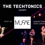 An Evening with Musae and The Techtonics - Society Members Ticket Image