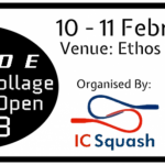 Blade Imperial College Doubles Open Entery  Image