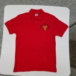 ICSM Red Polo Shirt Image