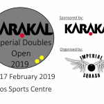 Early Bird Doubles Entry Fee (Imperial Students) Image