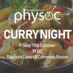 Physoc Curry Night Image