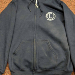 Linstead Zipped Hoodie with personalised name Image