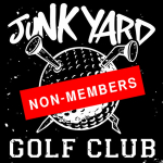 Junkyard Golfing - non-members Image