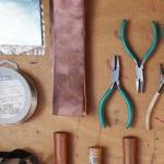MEMBERS - Copper Pendant Workshop 17-11-2018 Image