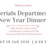 Alumni New Year Dinner Ticket Image