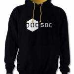 DoCSoc Hoodie (Black / Yellow) Image