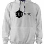 DoCSoc Hoodie (Heather / Navy) Image