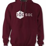 DoCSoc Hoodie (Burgundy / Charcoal) Image