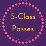 Spring Term 5-Class Pass Image