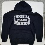 Imperial College Medics Hoodie Black  Image