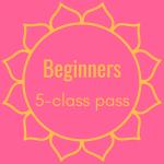 Beginners 5-Class Pass Image