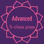 Advanced 5-Class Pass Image