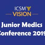 Vision Junior Medics Conference 2019 - State School Ticket Image