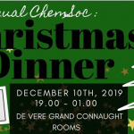 Chemsoc Christmas Dinner - General admission Image