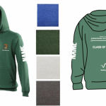 Merch Hoodie with Name Image