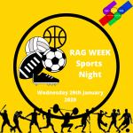 ICSM RAG Week Sports Night Image