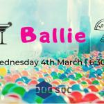 Ballie Ballerson Ticket Image