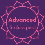 Advanced Five Class Pass Image