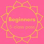 Beginners Five Class Pass Image