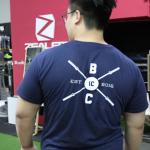 IC Barbell T-Shirt Navy Image